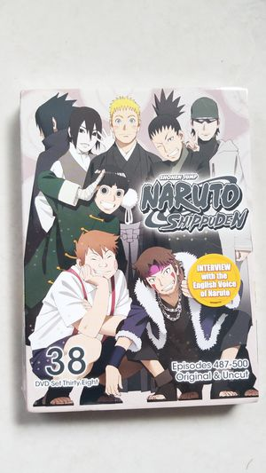 Naruto Shippuden Set 38 (Episodes 487-500) for Sale in Kissimmee, FL