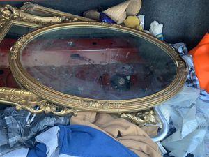 Antique wooden mirror for Sale in Norwalk, CA