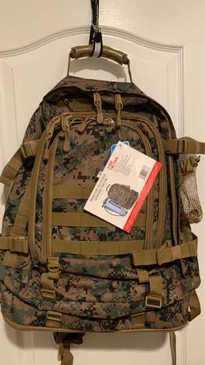 USMC Code Alpha TAC PAC Expandable 3-day Backpack w/ Hydrapak 3L Hydration for Sale in Corona, CA