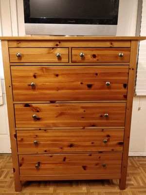"Like new big chest dresser with big drawers in very good condition, all drawers sliding smoothly, pet free smoke free. L43.5""*W20""*H52"" for Sale in Annandale, VA"