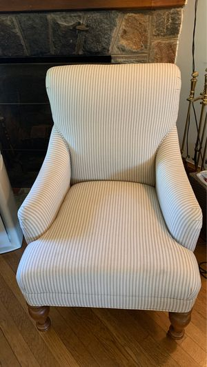Vintage Pinstriped Lounge Chair for Sale in Washington, DC