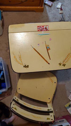 Children's antique school desk for Sale in Covington, WA