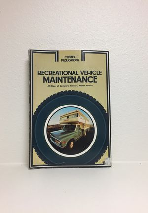 RECREATIONAL VEHICLE MAINTENANCE MANUAL for Sale in Billings, MT