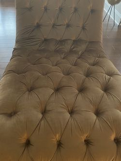 Regularly $1000 Bronze Large Upholstery Chaise for Sale in Atlanta,  GA