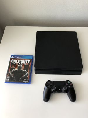SONY PLAYSTATION 4 PS4 SLIM 500GB USED for Sale in Lewisville, TX