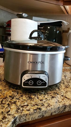 Crock-Pot Slow Cooker for Sale in Lynnwood, WA