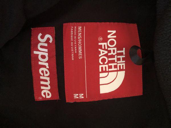 Supreme x North Face fleece