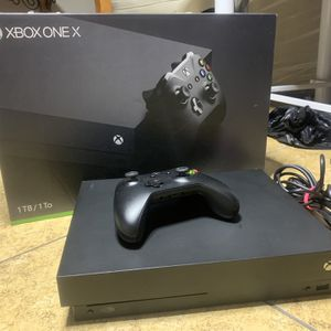 Xbox One X +1 Game for Sale in Las Vegas, NV