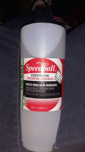 Diazo speedball screen printing photo emulsion remover for Sale in Spring Valley, CA