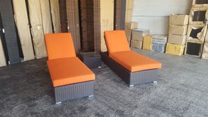 patio furniture outdoor 3p. chaise lounge set for Sale in Phoenix, AZ