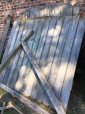 Old wood fence for Sale in Houston, TX