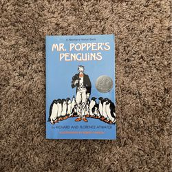 Mr. Popper's Penguins Book By:Richard And Florence Atwater for Sale in Park Ridge,  IL
