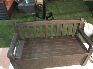 EDEN storage bench deck box for Sale in Las Vegas, NV