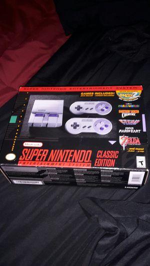 Super Nintendo SNES Classic Edition for Sale in Smyrna, GA