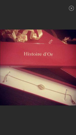 Gold bracelet with diamonds for Sale in Nanticoke, PA
