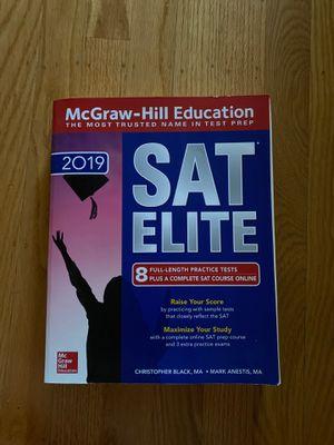 McGraw-Hill SAT Elite 2019 for Sale in San Leandro, CA