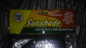 BRAND NEW WINDSHIELD SUN SHADES FOR ONLY $2 CASH EACH (METALLIC COLOR ONLY) for Sale in Staten Island, NY