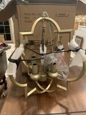 New in the Box 4 Light Chandelier for Sale in Virginia Beach, VA
