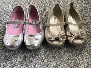 $20 for 2 pairs girls ballet flats size 9 for Sale in Waltham, MA
