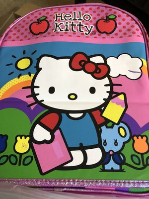 Brand new hello kitty back pack . Great for 3 or 4 years old for Sale in Mableton, GA