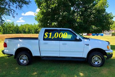 🟢💲1,OOO I'm selling URGENT this Beautiful💚2OO2 Ford F15O nice Family truck XLT Everything is working great! Runs great and fun to drive💪🟢 for Sale in Alameda,  CA