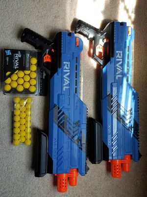 Nerf rival guns for Sale in Inwood, WV