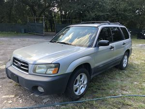 2004 Subaru Forester Manual Transmission for Sale in Orlando, FL