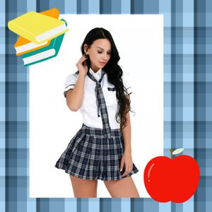 """""""NAUGHTY CATHOLIC SCHOOL GIRL!"""" Super sexy authentic looking deluxe catholic school girl costume women's size LARGE - NEW! for Sale in Carrollton, TX"""
