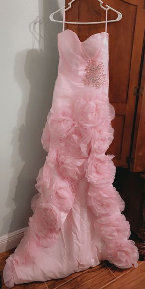 Rose Pink Prom/Quinceanera Dress Size 4 for Sale in Clermont, FL