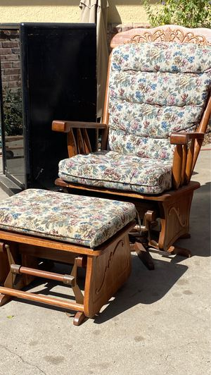 Rocking chair and stool for Sale in Fresno, CA