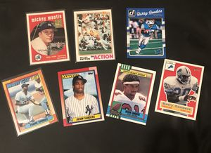 Baseball and football card lot for Sale in Independence, OH
