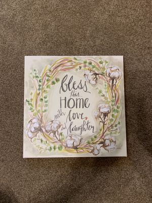 """""""Bless This Home"""" Wall Art for Sale in Milan, IL"""