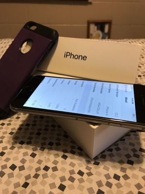 Perfect condition IPhone 6 32 GB for Sale in Wenatchee, WA