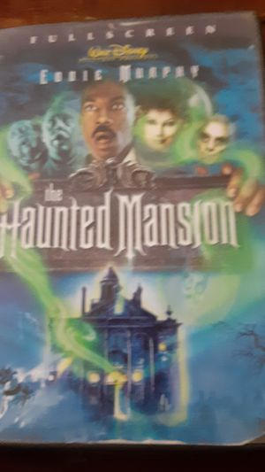 The haunted mansion dvd for Sale in Grand Saline, TX