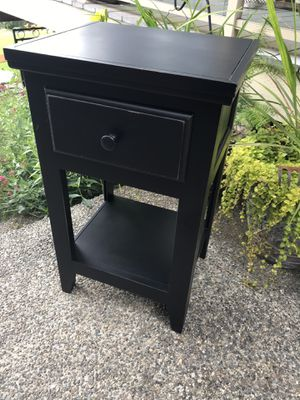 Black Nightstand for Sale in Orting, WA