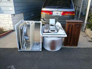 Free metal and shelf for Sale in Huntington Beach, CA