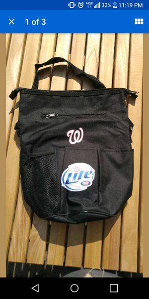 Washington Nationals Cooler Nats Miller light bag for Sale in Ashton-Sandy Spring, MD