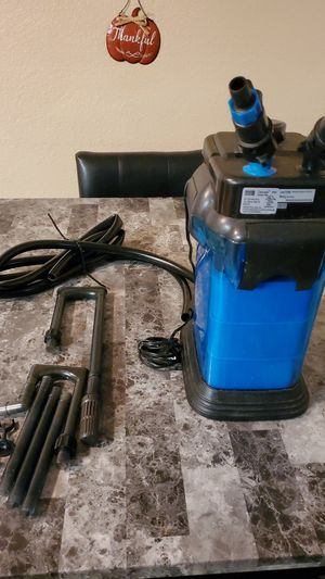 Aquarium canister filter for Sale in Grand Prairie, TX