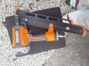 Rigid Nail Gun R350RHF...New Never Used for Sale in Greenacres, FL