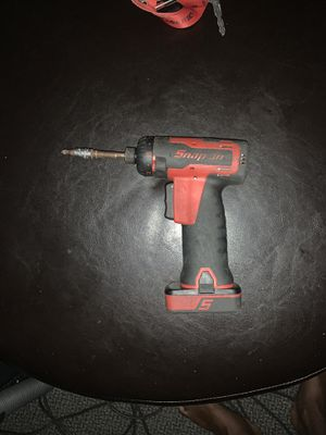 """Snap-on 14.4v 1/4"""" Screw Gun CTS761 for Sale in Minneapolis, MN"""