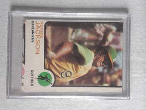 1973 Topps #255 Reggie Jackson Baseball Card for Sale in Parma, OH