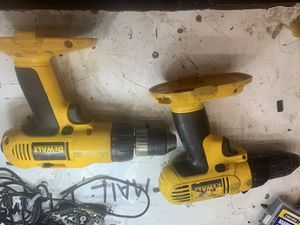 Dewalt 18v drills. Working good. $10 each for Sale in Norco, CA