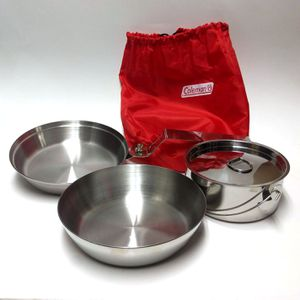 Coleman Stow-Away 3-Piece Cookware Set Outdoors for Sale in Seattle, WA