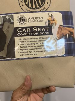 Car Seat Cover For DOGS for Sale in Brooklyn,  NY