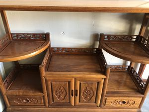 Chinese antique display cabinet for Sale in ROWLAND HGHTS, CA
