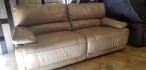 Leather reclining sofa for Sale in Hudson, FL