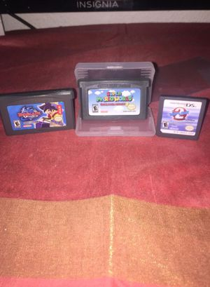 Súper Mario world + wipeout 2 + beyblade for Sale in San Jose, CA