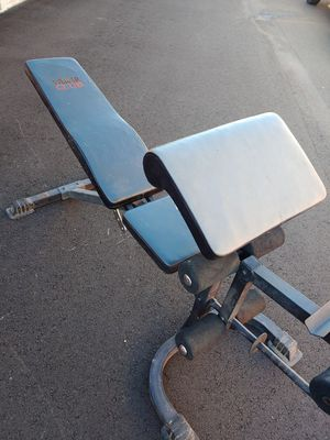 Bench, bars and weights for Sale in Phoenix, AZ