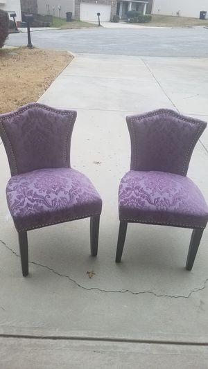 Lavender Pictures and Chairs for Sale for sale  Snellville, GA