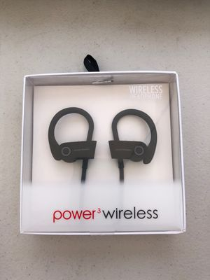 Power 3 headphone wireless high quality for Sale in Los Angeles, CA